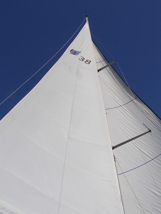 Sky, Sailboat, Sailing