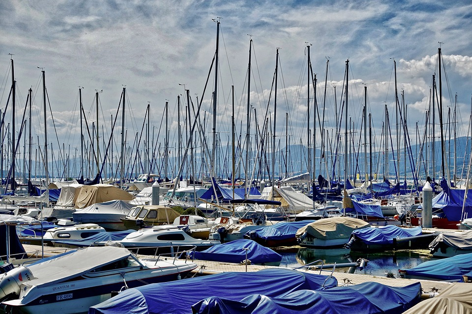 Yachts, Marina, Harbor, Sea, Sailboats, Pier, Jetty
