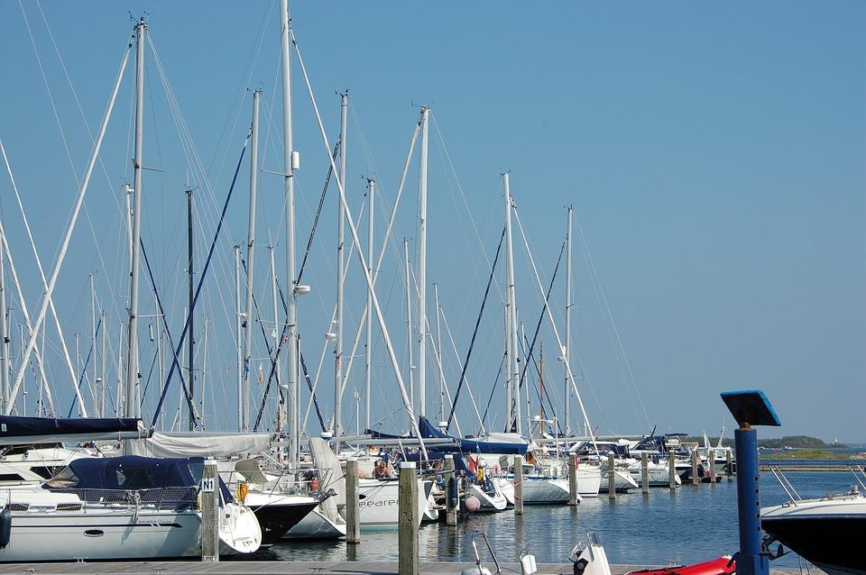 Sailing Boat, Zealand, Blue, Summer