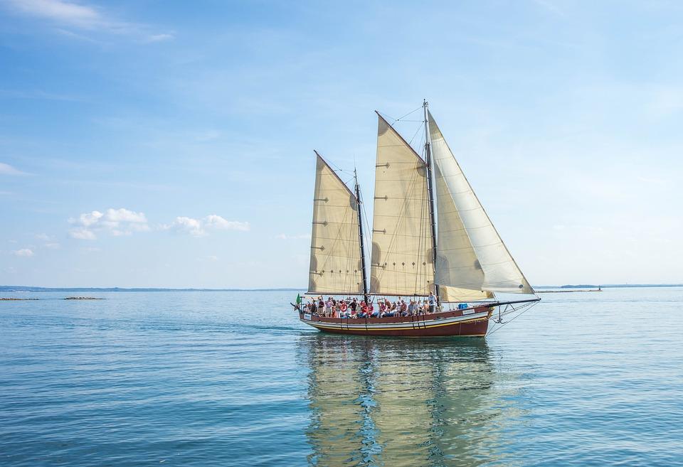Ship, Boat, Lake, Sailing Boat, Italy, Sea, Vessel