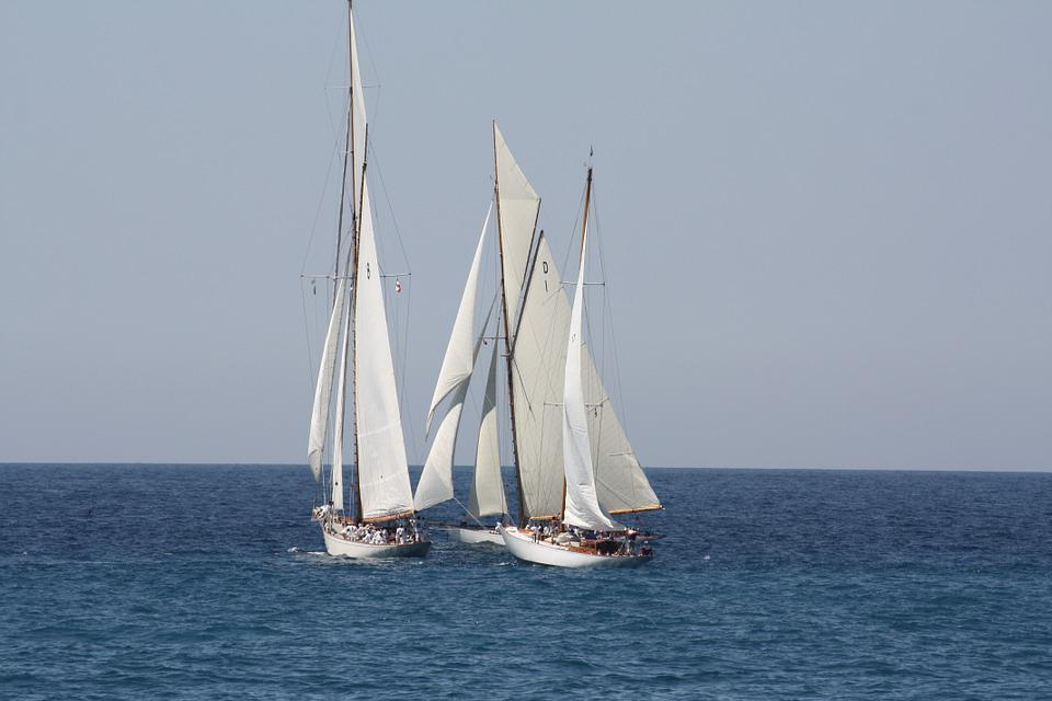 Old Rigs, Marseille, Sailing, France, Sailing Boat