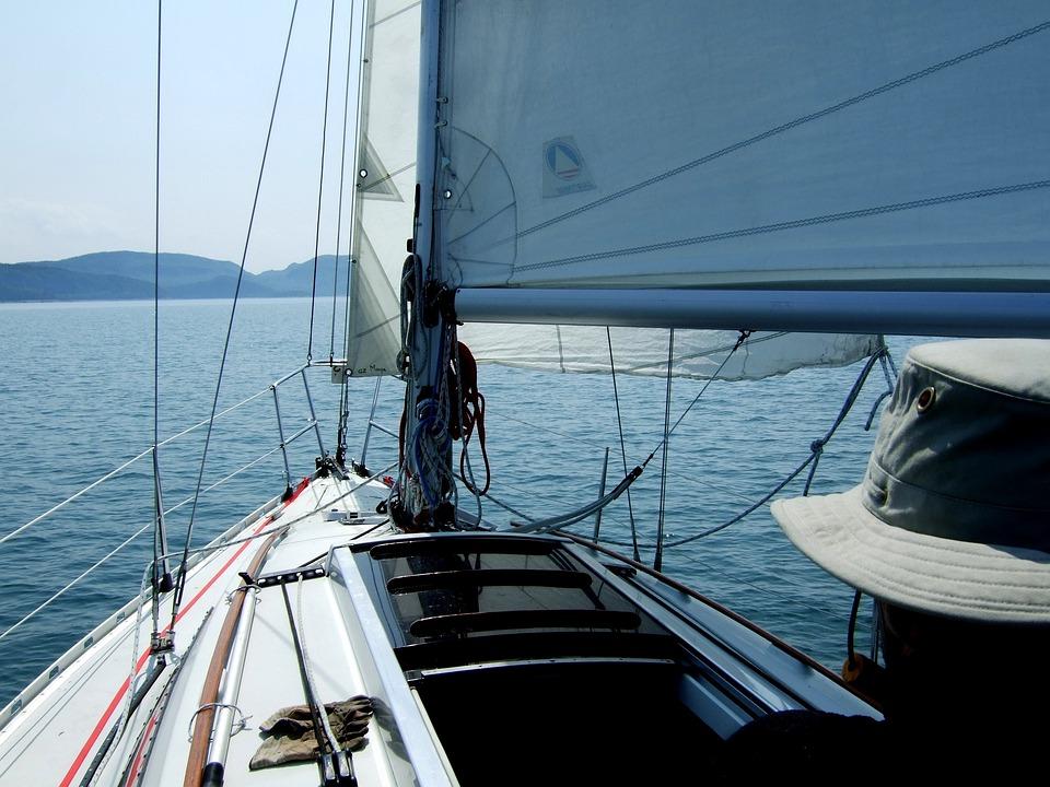 Sailing Boat, Sailing, Sailboat, Sea, Wind, Port, Ocean