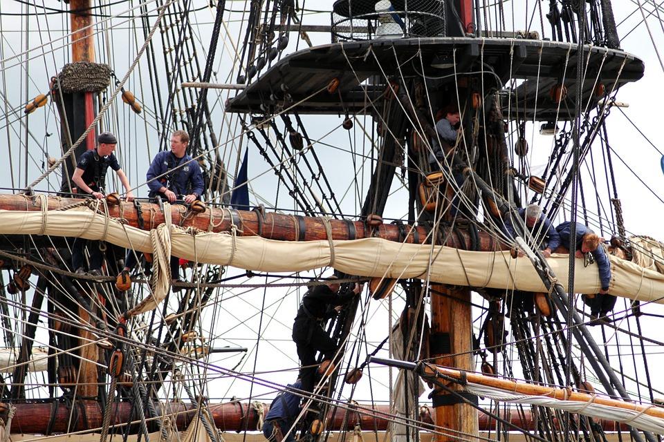 Boat, Sails, Sailing Boat, Marine, Mast, Halyard
