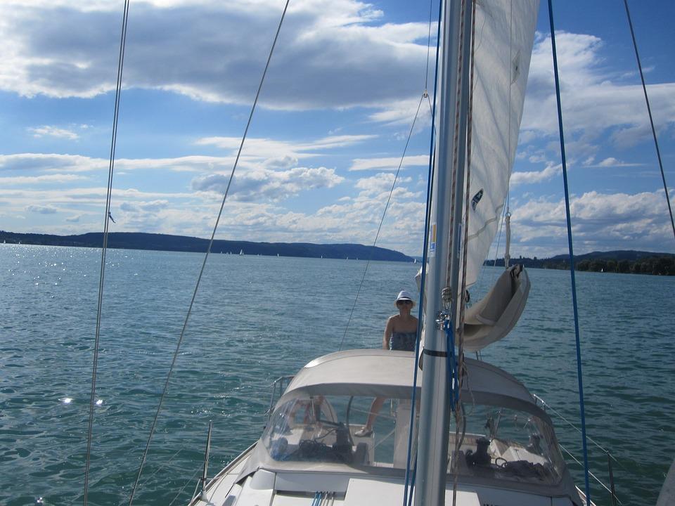 Sail, Lake Constance, Lake, Ship, Sailing Boat