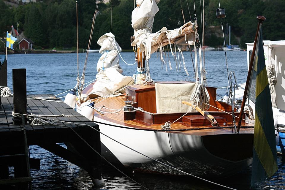 Sailing Boat, Marina, Sailing, Yacht, Boat, Water