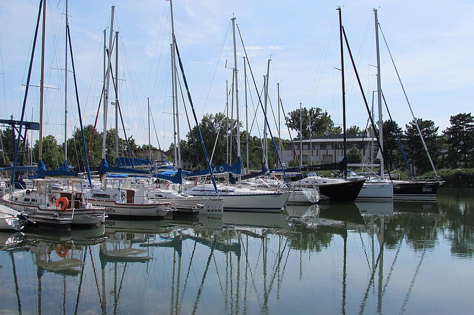Sailing Boats, Port, Sail Masts, Boat Masts, Marina