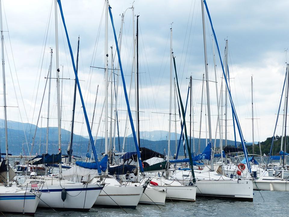 Boats, Port, Sailing Boats, Masts, Boat Masts