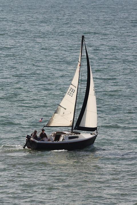 Sloop, Sailboat, Boat, Sail, Sailing, Ocean, Pacific