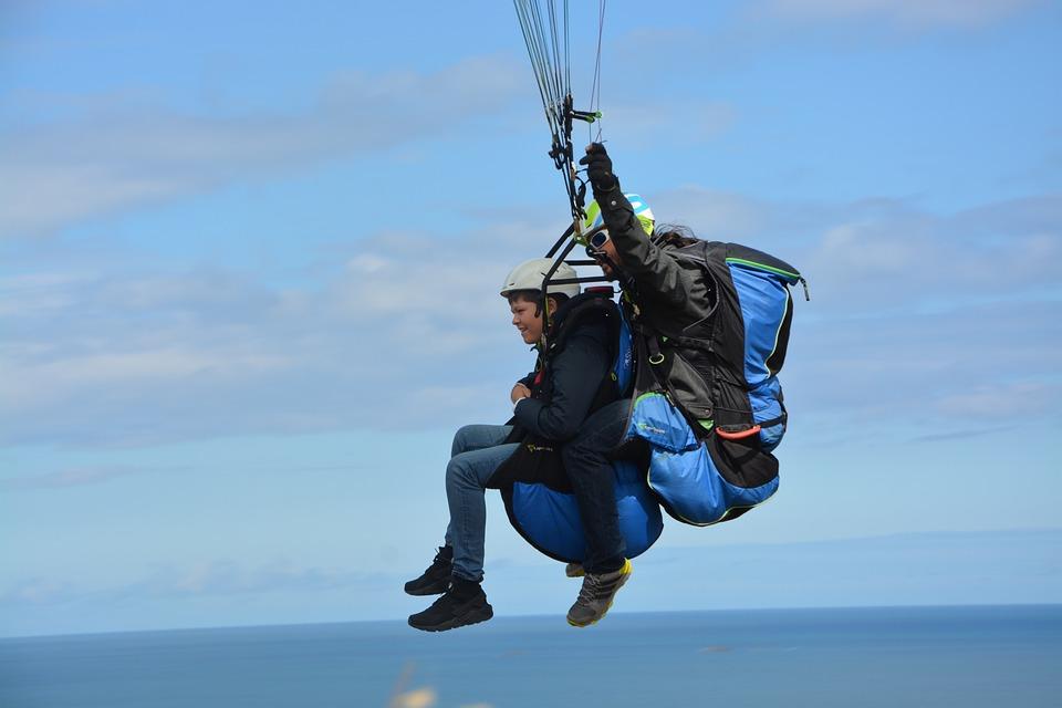 Paragliding, Paraglider, Sailing, Free Flight