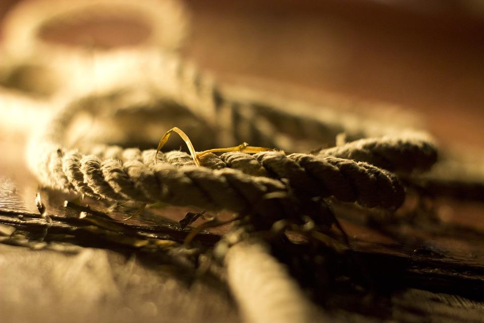 Rope, Sailing, Ship, Nautical, Marine, Retro, Knot, Old