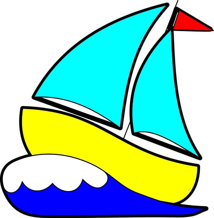 Sailboat, Sailing Boat, Sailing, Wave, Ocean, Sailor