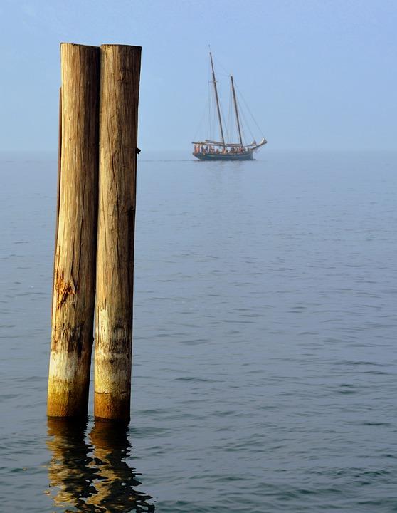 Mooring, Boat, Lake, Sailing Ship, Water