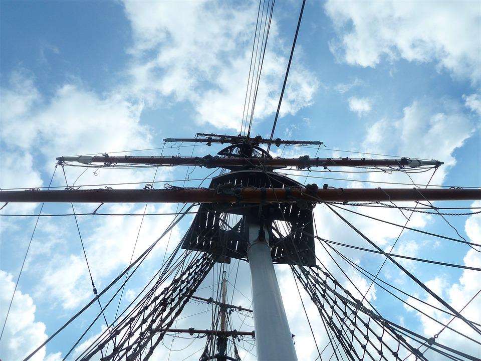 Ship, Sailing Ship, Sailing, Sailboat, Clouds, Sky