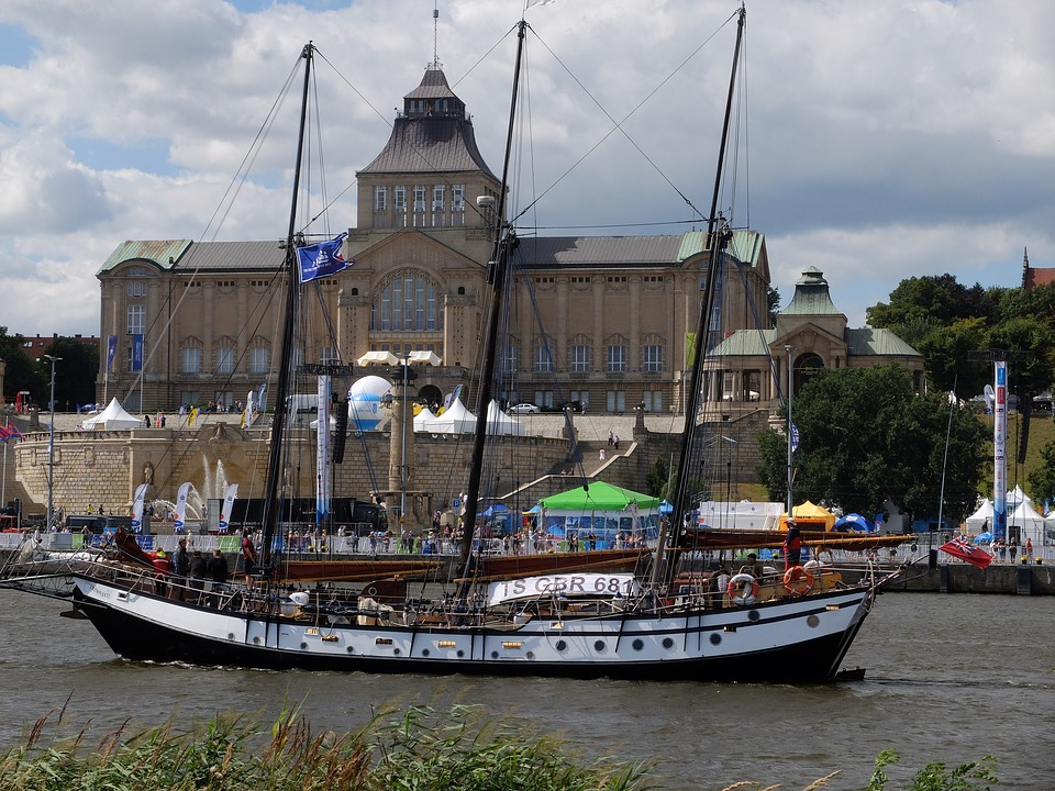 Szczecin, The Old Town, Sailing Ship