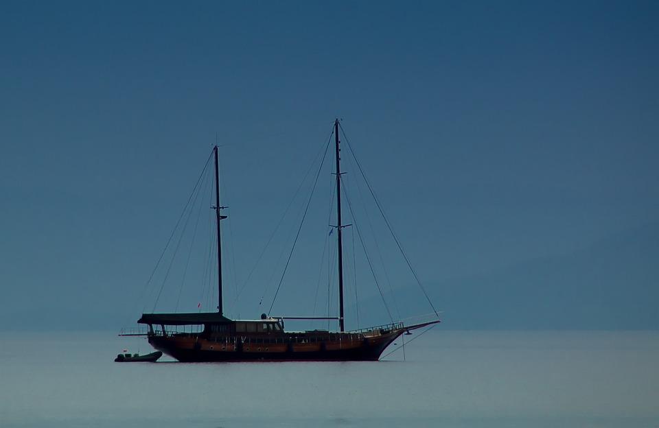 Ship, Lake, Water, Boot, Sailing Ships, Corfu