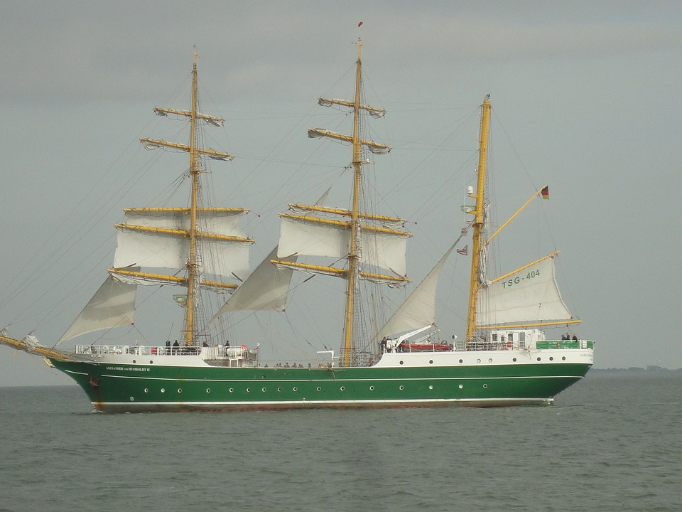 Baltic Sea, Sea, Sailing Vessel, Water, Ships, Yacht