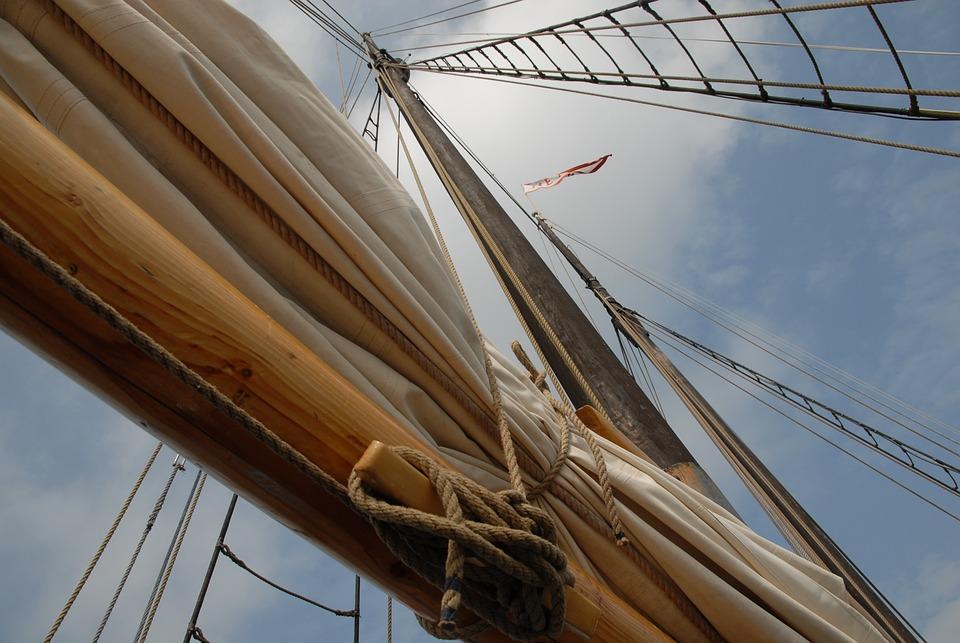 Sailing Boat, Mast, Sail, Boot, Sailing Vessel