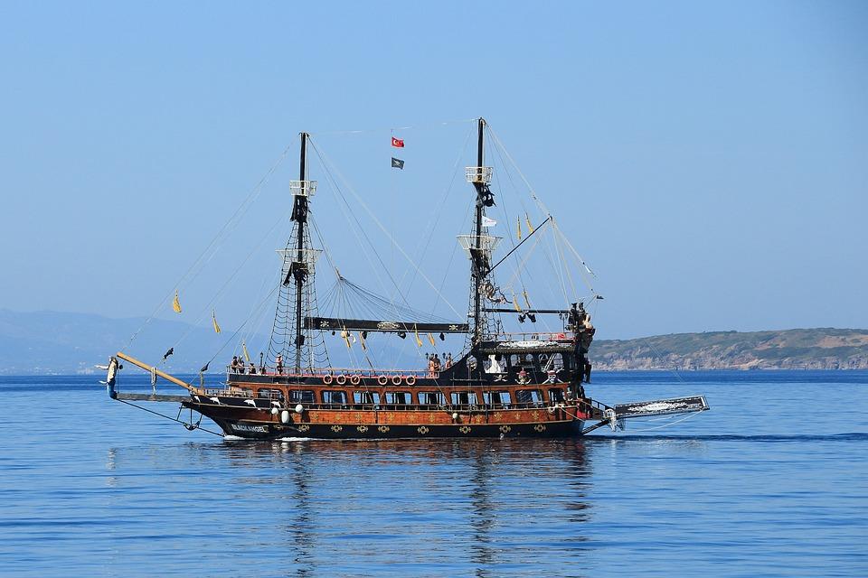 Pirates, Sailing Vessel, Ship