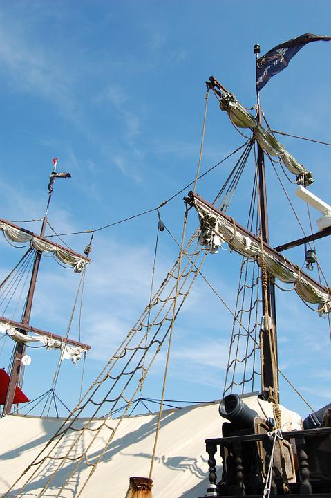 Sailing Vessel, Rigging, Masts