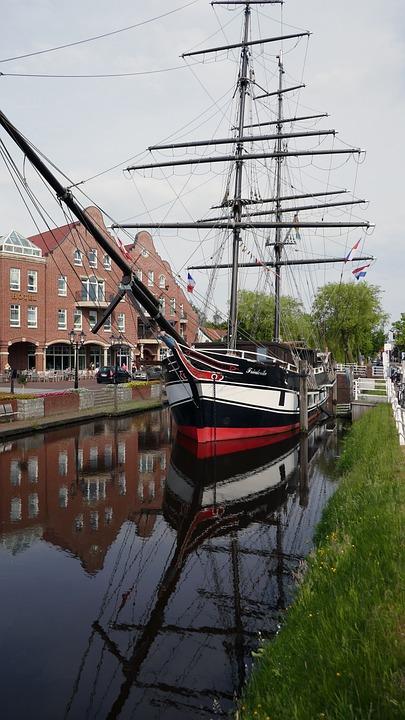 Saver, Sailing Vessel, Papenburg Germany, Shipbuilding