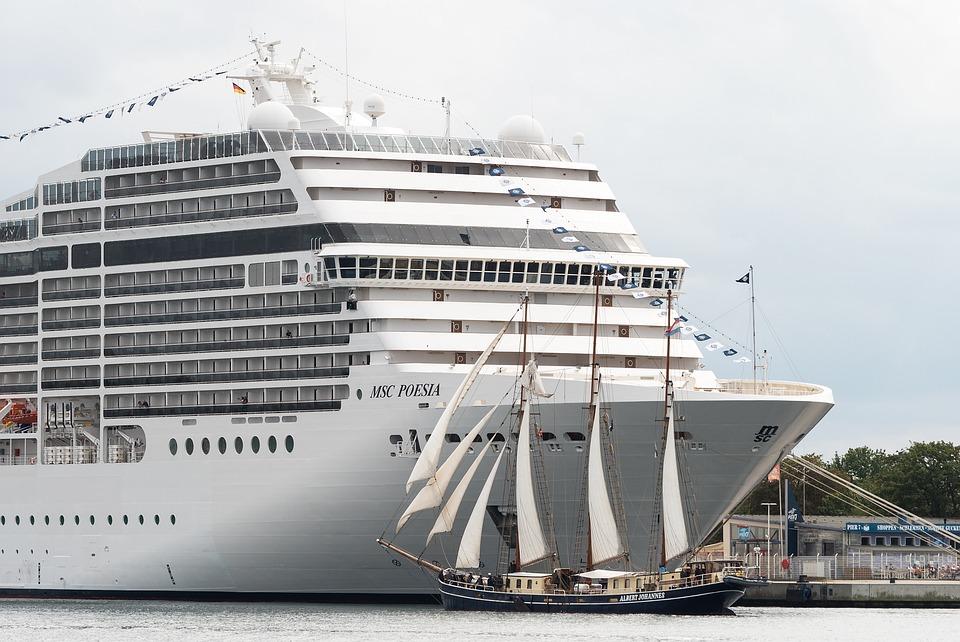 Cruise Ship, Passenger Ship, Tall Ship, Sailing Vessel