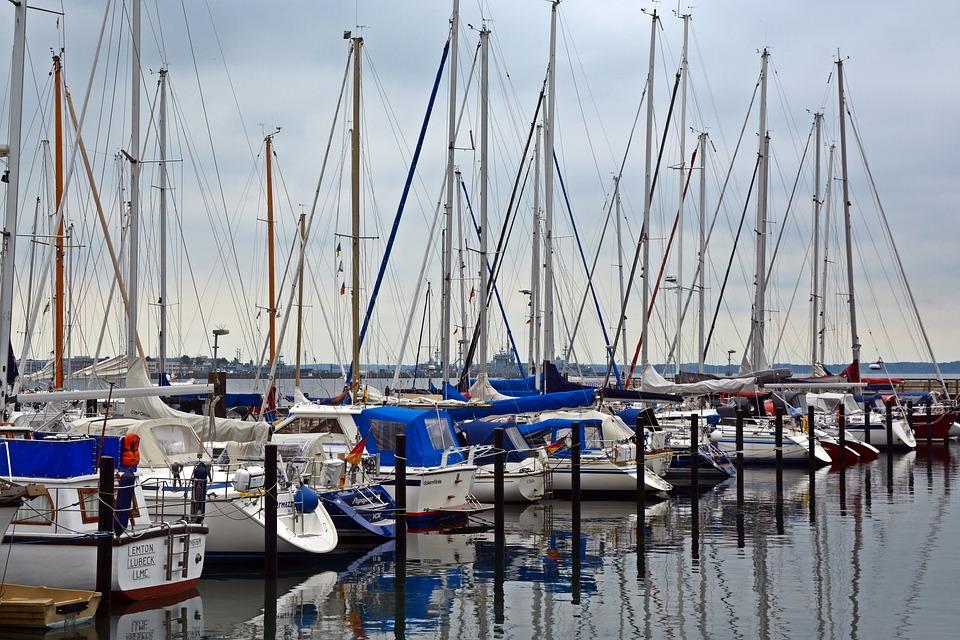 Sailing Vessel, Marina, Yacht, Port, Boot, Ship