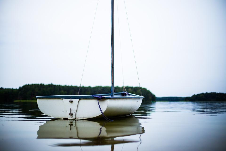 Boat, Sailboat, Lake, Water, Nature, Sail, Sailing