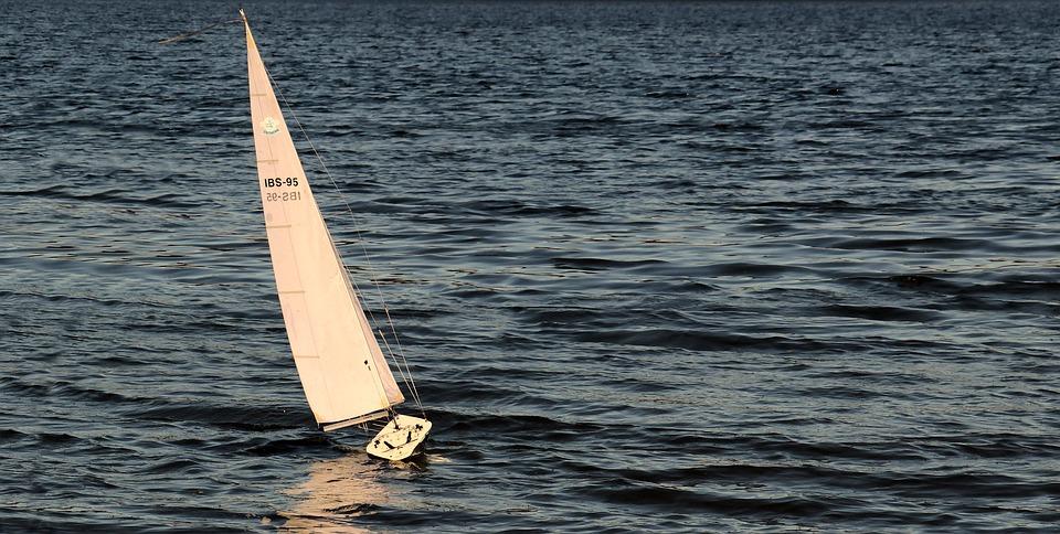 Sailing Boat, Sailing Yacht, Sailing Vessel, Rest, Sea