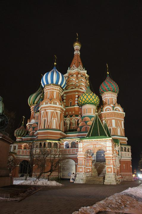 Cathedral, Russia, Moscow, Saint Basil's Cathedral