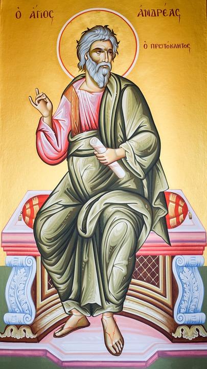St Andrew, Saint, Iconography, Painting