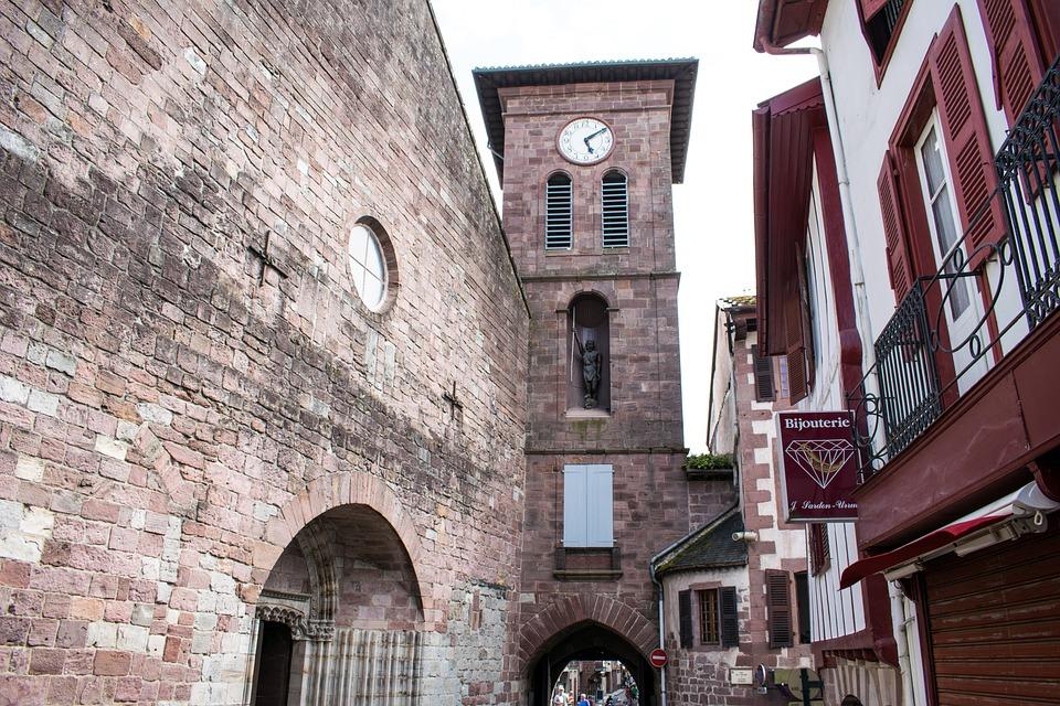 France, Saint Jean Pied De Port, Santiago Path