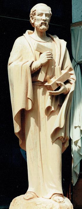 Saint Joseph, Joseph, Josef, Zimmermann, Fig, Statue