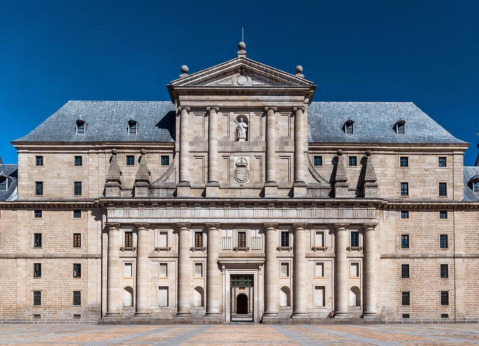 Spain, Monastery, Saint Lawrence, Building, Church