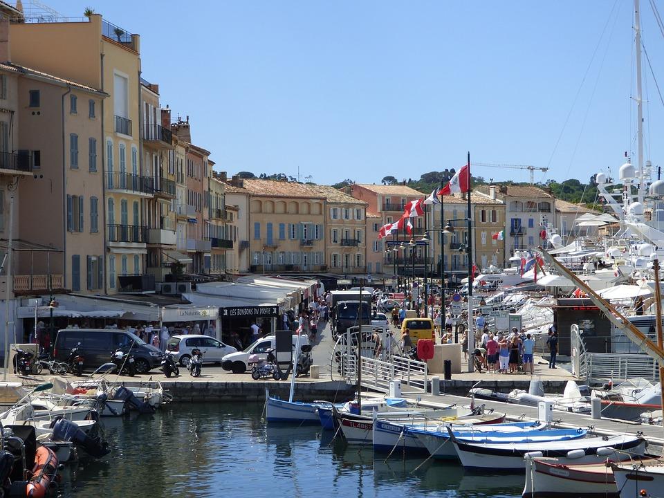 Provence, Saint-tropez, Sea, Port, Boat, Sailboats