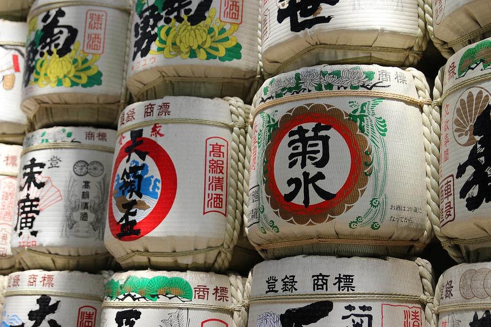 Japan, Asia, Sake, East, Religion, Temple, Colors, Wood