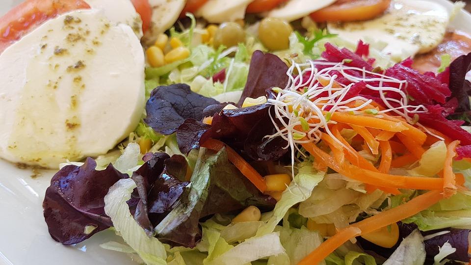 Food, Meal, Salad, Board