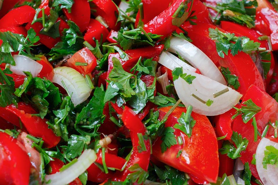 Salad, Healthy Eating, Vegetables, Nutrition, Food
