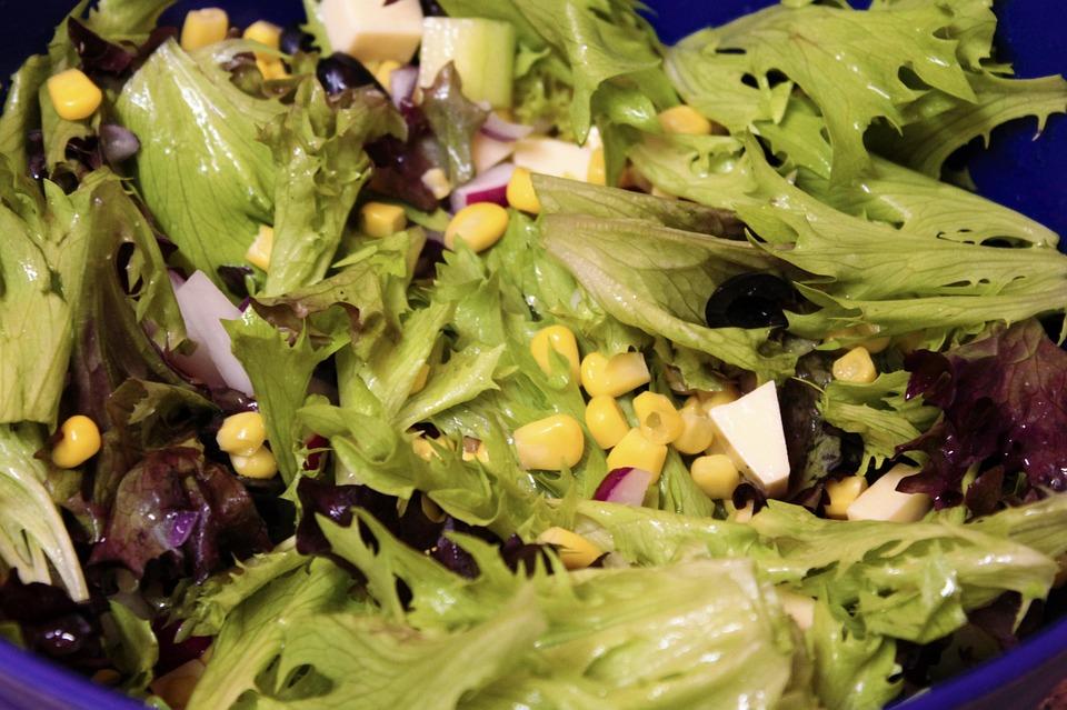 Salad, Frisch, Rocket, Healthy, Green, Vitamins