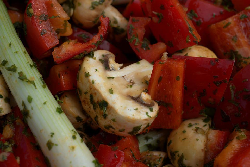 Spring Onion, Party, Spices, Paprika, Salad, Grill