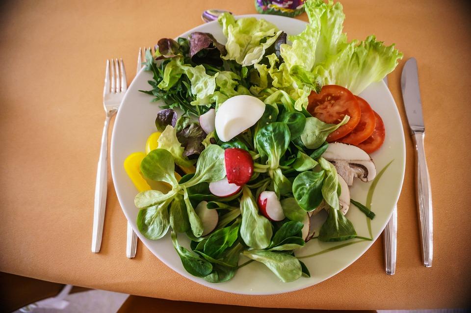 Salad Food Meal Plate Dinner Starter Lettuce & Free photo Salad Starter Lettuce Dinner Plate Meal Food - Max Pixel