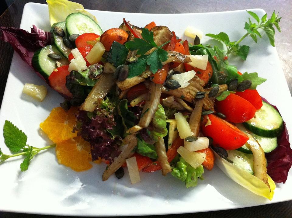 Salad, Saltatteller, Summer Salad, Eat
