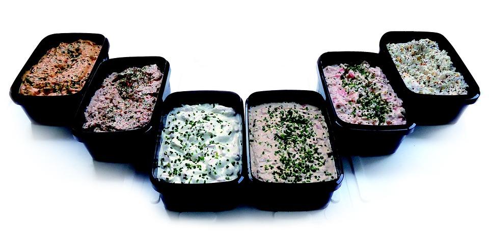 Salads, Foculi, Fish Salad