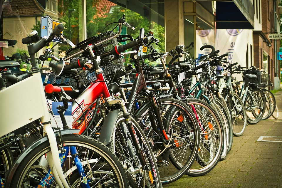 Bicycles, Business, Urban, Shop, Cyclists, Sale, Bike