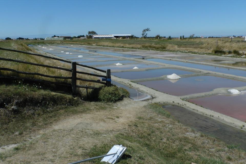 Salt, Sea, Evaporation, Flat, France, Saline