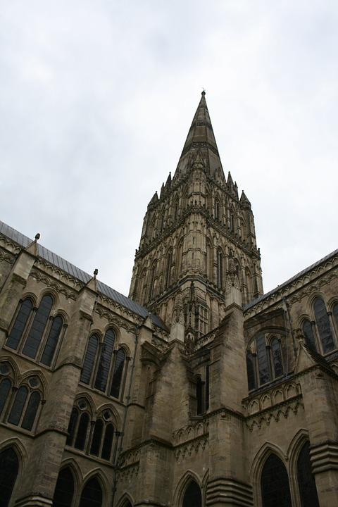 Salisbury, Cathedral, England, Architecture, Stone