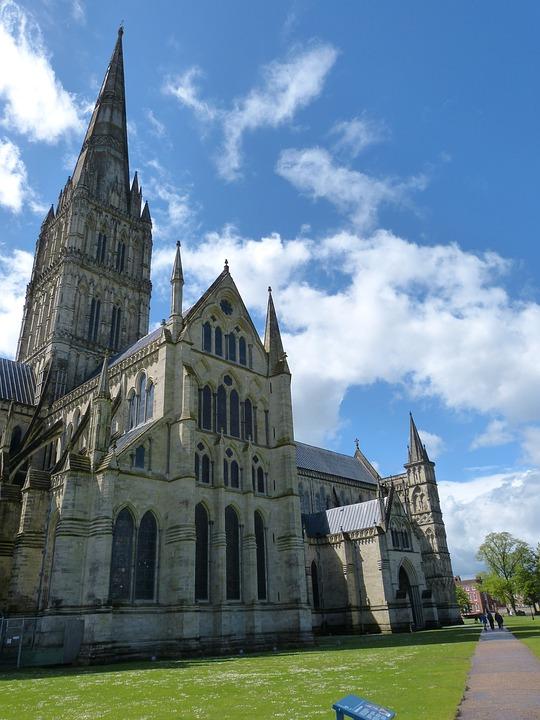 Salisbury, United Kingdom, England, Church, Cathedral