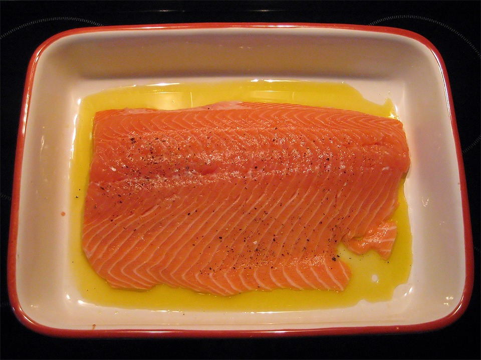 Salmon, Salmon Fillet, Wild Salmon, Baking Dish, Cook