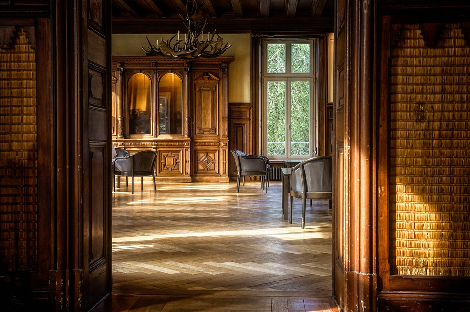 Room, Space, Parquet, Salon, Smoking Rooms, Wood, Chair