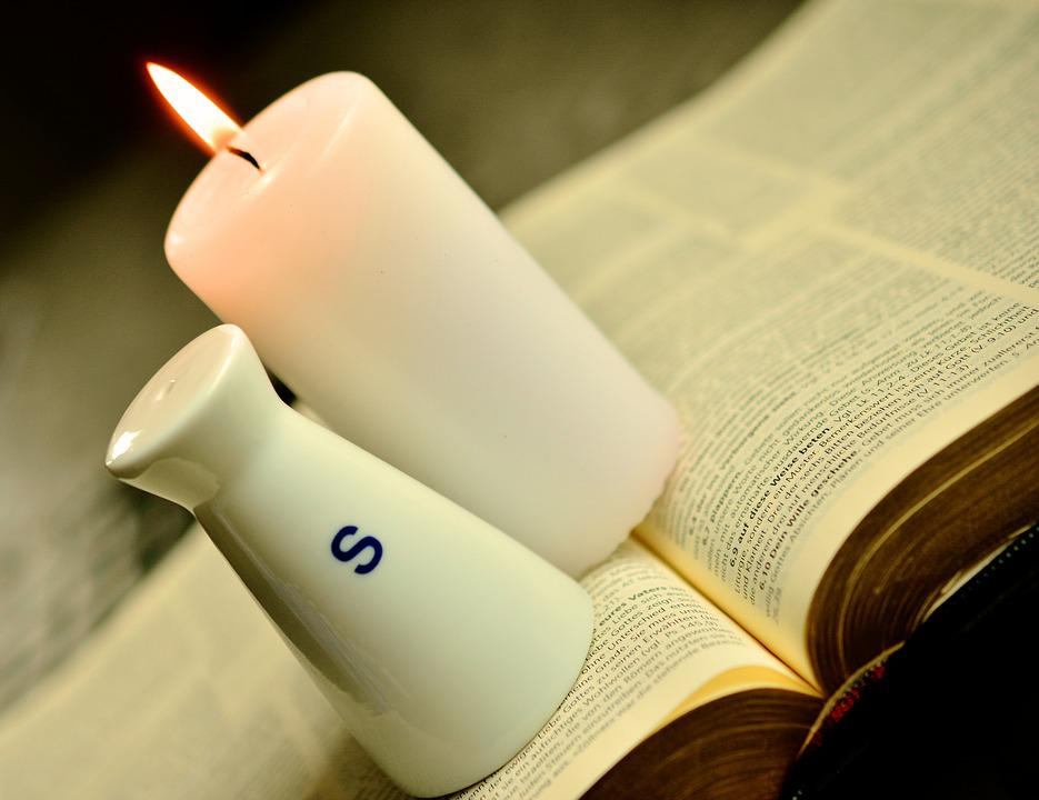 Bible, Salt And Light, Symbolism, Christian Faith