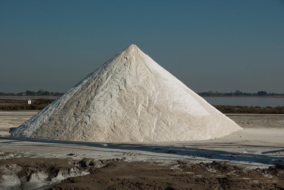 Camargue, Acute Dead, Salt, Saline, Salt Mountain